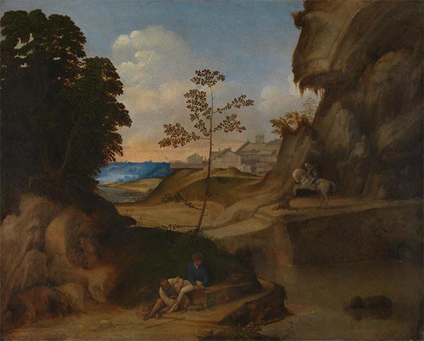 Il Tramonto (The Sunset), c.1506/10 | Giorgione | Painting Reproduction