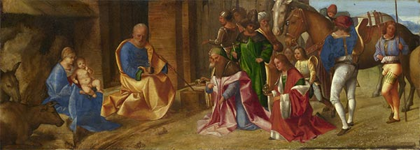 The Adoration of the Kings, c.1506/07 | Giorgione | Painting Reproduction
