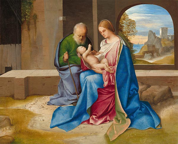 The Holy Family, c.1500 | Giorgione | Painting Reproduction