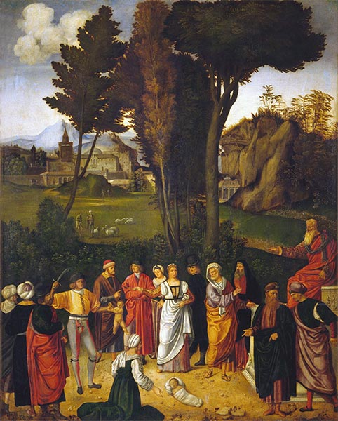 The Judgment of Solomon, c.1502/05 | Giorgione | Painting Reproduction