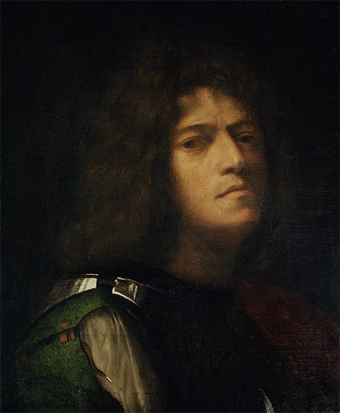 Self Portrait as David, c.1508/10 | Giorgione | Painting Reproduction