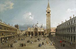 Piazza San Marco With the Cathedral | Canaletto | Painting Reproduction