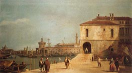 Fonteghetto della Farina, c.1727/29 by Canaletto | Painting Reproduction