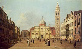 Campo Santa Maria Formosa | Canaletto | Painting Reproduction