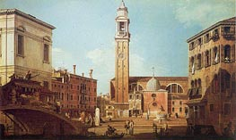 Campo Santi Apostoli | Canaletto | Painting Reproduction