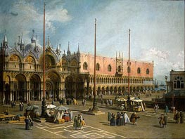 Piazza di San Marco | Canaletto | Painting Reproduction