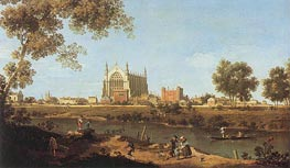 The Chapel of Eton College | Canaletto | Painting Reproduction
