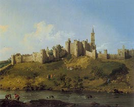 Alnwick Castle | Canaletto | Painting Reproduction
