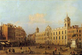 Northumberland House, 1752 by Canaletto | Painting Reproduction