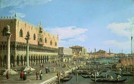 Venice: the Riva degli Schiavoni | Canaletto | Painting Reproduction