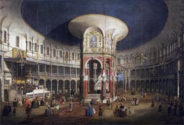 Ranelagh Gardens, the Interior of the Rotunda, c.1751 von Canaletto | Gemälde-Reproduktion