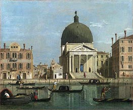 View of the Grand Canal | Canaletto | Painting Reproduction