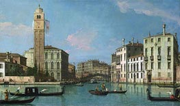 Venice: Entrance to the Cannaregio | Canaletto | Painting Reproduction