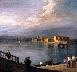 A View from the Fondamenta Nuove Looking Towards Murano | Canaletto | Painting Reproduction