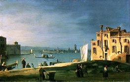 View of Venice, undated by Canaletto | Painting Reproduction