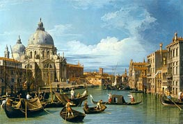 The Entrance to the Grand Canal, Venice, c.1730 by Canaletto | Painting Reproduction