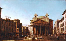 The Pantheon | Canaletto | Painting Reproduction