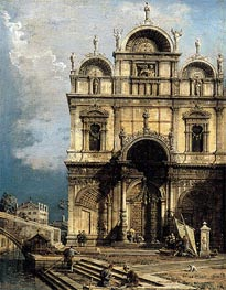 The School of San Marco | Canaletto | Painting Reproduction