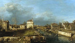 Porta Portello, Padua | Canaletto | Painting Reproduction