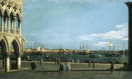 The Bacino di San Marco from the Piazzetta | Canaletto | Painting Reproduction