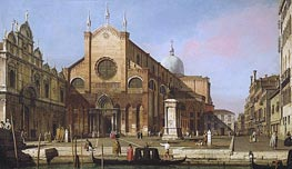 Venice: The Campo SS. Giovanni e Paolo | Canaletto | Painting Reproduction