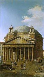 Rome: The Pantheon | Canaletto | Painting Reproduction