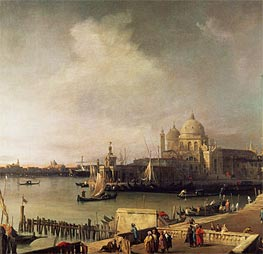 Entrance to the Grand Canal | Canaletto | Painting Reproduction