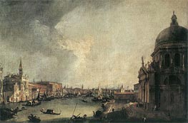 Entrance to the Grand Canal: Looking East, c.1725 by Canaletto | Painting Reproduction