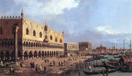 Riva degli Schiavoni: Looking East | Canaletto | Painting Reproduction
