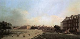 London: The Old Horse Guards from St. James's Park, c.1749 by Canaletto | Painting Reproduction