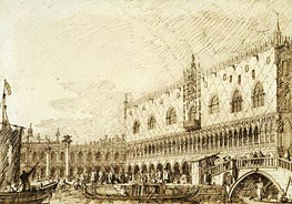 The Palazzo Ducale and Molo | Canaletto | Painting Reproduction