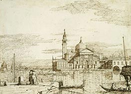 San Giorgio Maggiore, c.1735/40 by Canaletto | Painting Reproduction