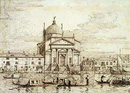 The Redentore | Canaletto | Gemälde-Reproduktion