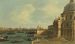 Venice: Santa Maria della Salute, undated by Canaletto | Painting Reproduction