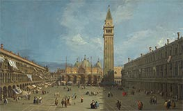 Piazza San Marco | Canaletto | Painting Reproduction
