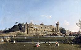 Warwick Castle | Canaletto | Painting Reproduction