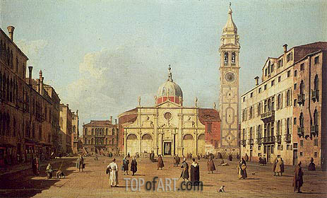 Campo Santa Maria Formosa, 1730 | Canaletto | Painting Reproduction