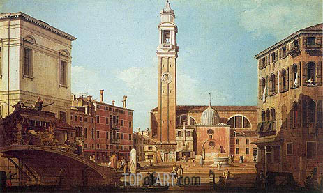 Campo Santi Apostoli, c.1735/40 | Canaletto | Painting Reproduction