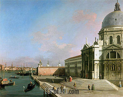 The Grand Canal, undated | Canaletto | Painting Reproduction