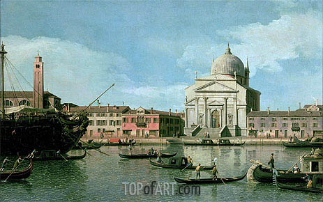 Il Redentore, undated | Canaletto | Painting Reproduction