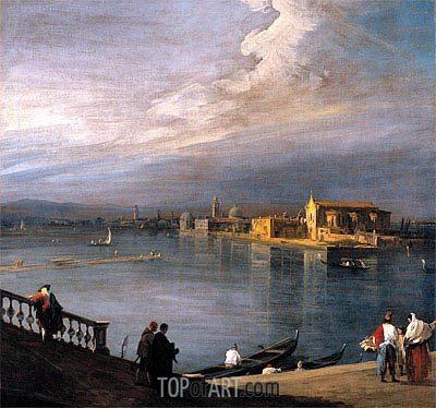 A View from the Fondamenta Nuove Looking Towards Murano, c.1722/23 | Canaletto | Painting Reproduction