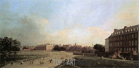 London: The Old Horse Guards from St. James's Park, c.1749 | Canaletto | Painting Reproduction