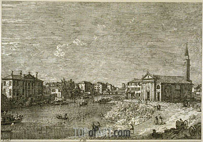 Al Dolo, undated | Canaletto | Painting Reproduction