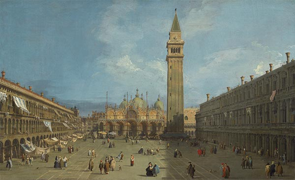 Piazza San Marco, c.1727/29 | Canaletto | Painting Reproduction