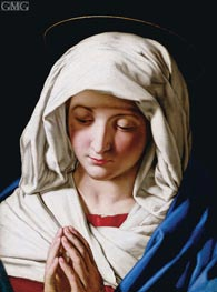 Madonna Orante | Sassoferrato | Painting Reproduction