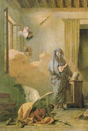 The Annunciation | Tiepolo | Gemälde Reproduktion