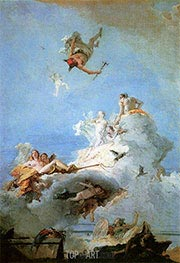 The Triumph of Venus, c.1726/65 by Tiepolo | Painting Reproduction