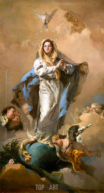 The Immaculate Conception, c.1767/69 | Tiepolo | Painting Reproduction