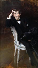 Portrait of James Abbott McNeil Whistler, 1897 von Giovanni Boldini | Gemälde-Reproduktion
