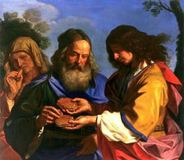 Samson and the Honeycomb | Guercino | Painting Reproduction
